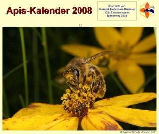 Imker-Kalender des Apis e. V.